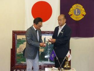 委員長表彰は・・・PR・広報委員会、L笹本