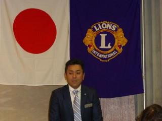 久保田会長が熱く所信を語りました。