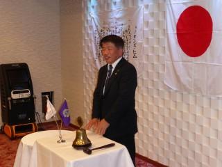 当クラブの会員でもあります、山岡県議会議員にもご挨拶をいただきました。