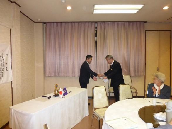 山川L、入会10周年おめでとうございます。