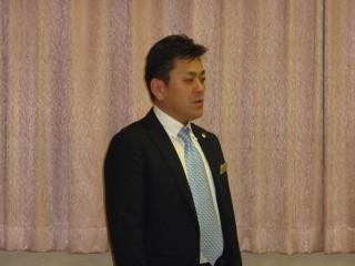 久保田会長のあいさつ